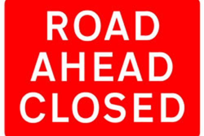Vann Road Closed in Warrick County_-4896919827434946244