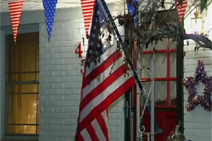 Several American Flags Burned In Newburgh Neighborhood _-8694696803510566428
