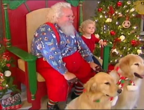 Santa Taking Pictures with Pets at Vanderburgh Humane Society_-5227084178133269619
