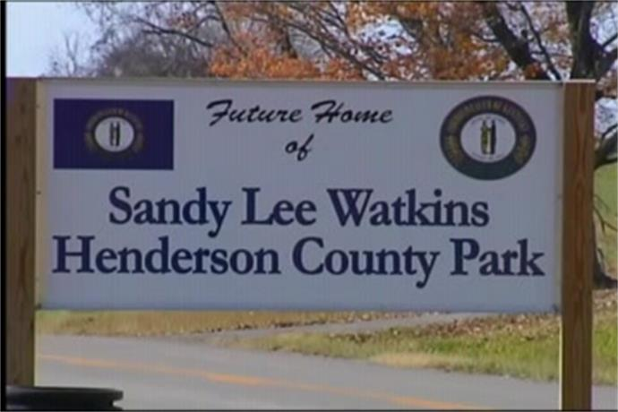 Sandy Watkins Park Closed for Improvements_732332817670032285