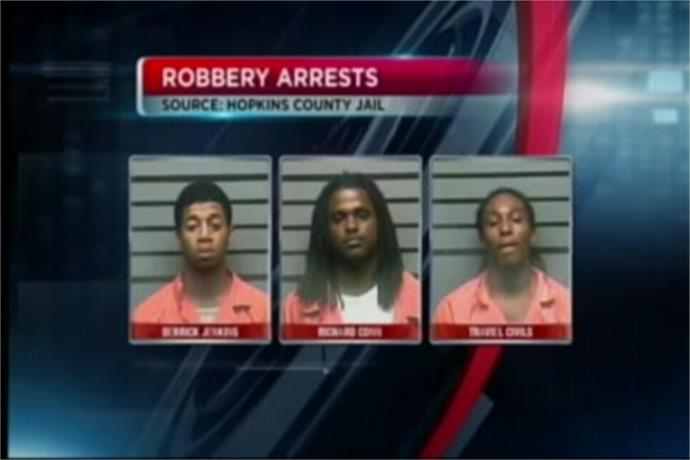 Three People Arrested After Armed Robbery in Madisonville_925970238612980127