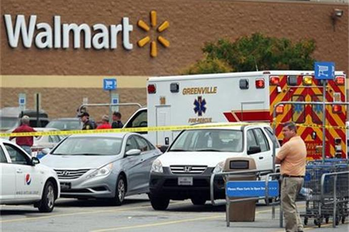 4 Shot at NC Law Firm, Wal-Mart; Suspect Caught_8743467984724836872