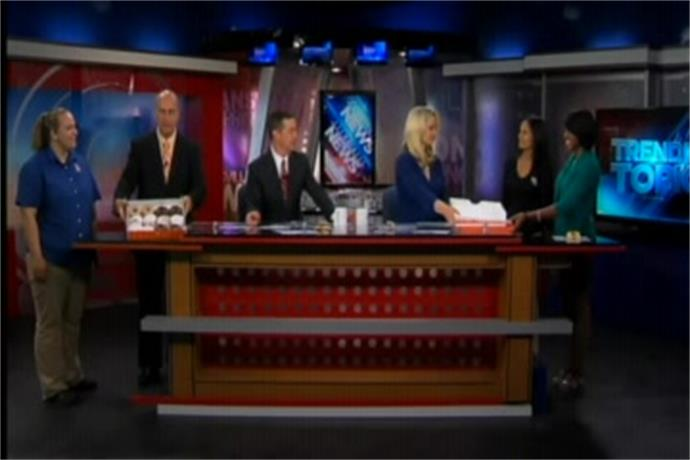 Dunkin Donuts Visits The Daybreak Crew_-930420710166870925