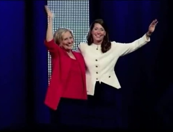 Hillary Clinton and Alison Lundergan Grimes_352323657197178482