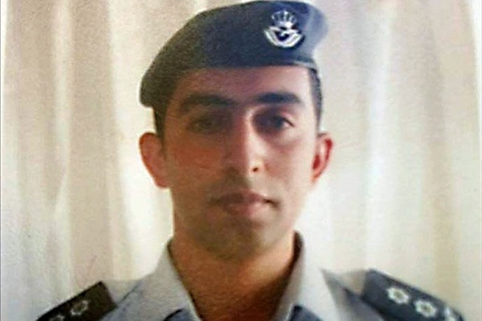 Al-Kassasbeh, Jordanian pilot captured by ISIS last month after the fighter jet he was flying crashed in Syria, Photo Date_ Unda_3101749657446793993