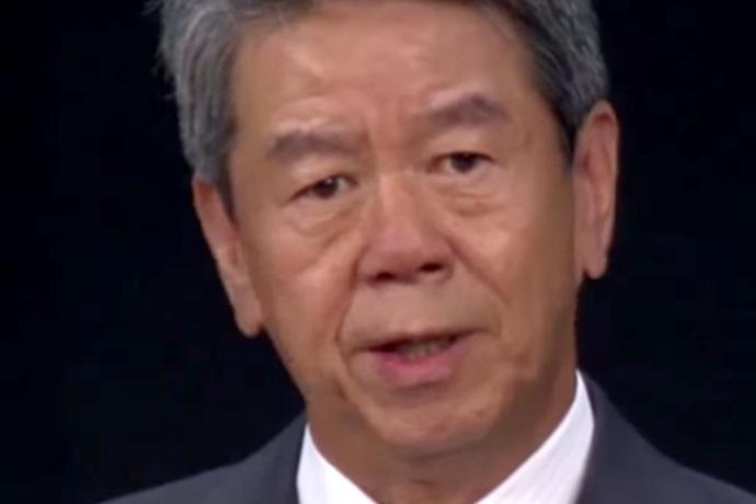 Toshiba chief executive and president, Hisao Tanaka_3408651297161693234