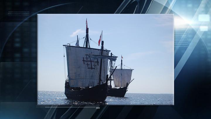 The Columbus Foundation Replica Ships