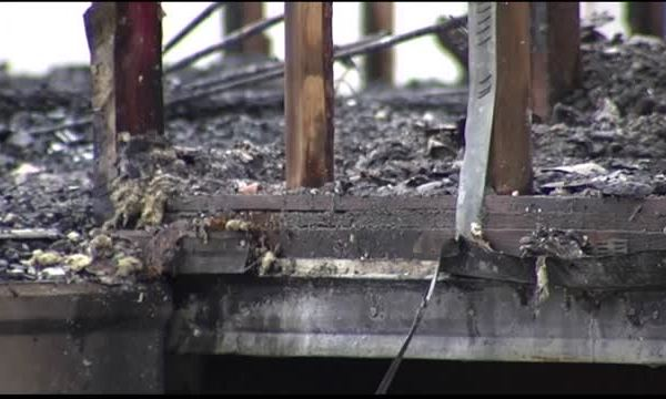 Officials Say Weekend Fire is Arson_20150928210006
