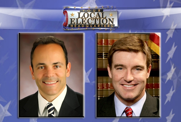 Matt Bevin and Jack Conway