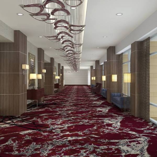 Downtown Evansville Convention Hotel Interior Renderings 1