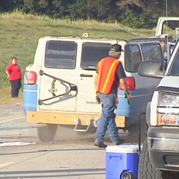 Deadly van accident on I-69 in Gibson County
