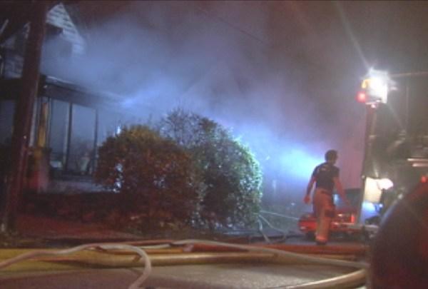 Fire 900 W Oregon Evansville