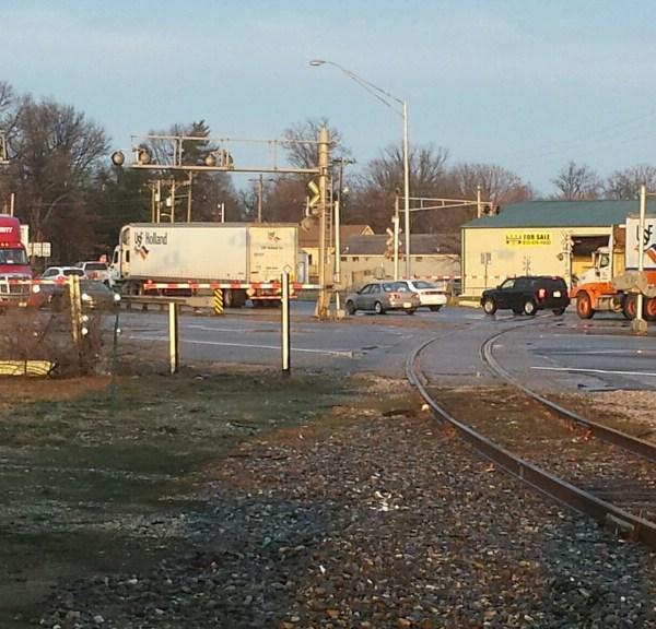 HWY 41 Railroad Crossing Arms