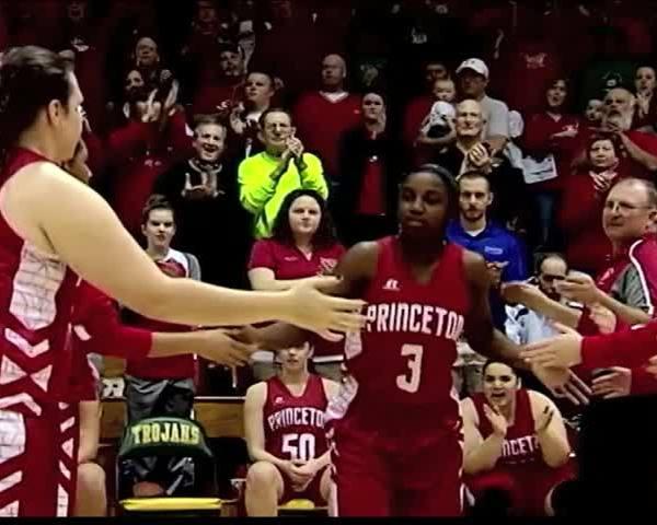 Jackie Young Princeton Women's Basketball