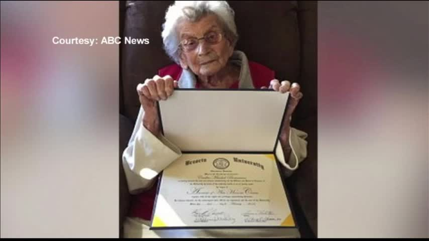 102-Year-Old Receives Brescia Degree_38558287-159532
