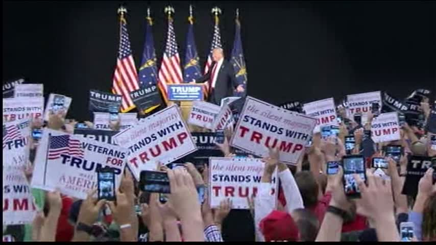 Donald Trump Holds Rally in Indianapolis_83249482-159532