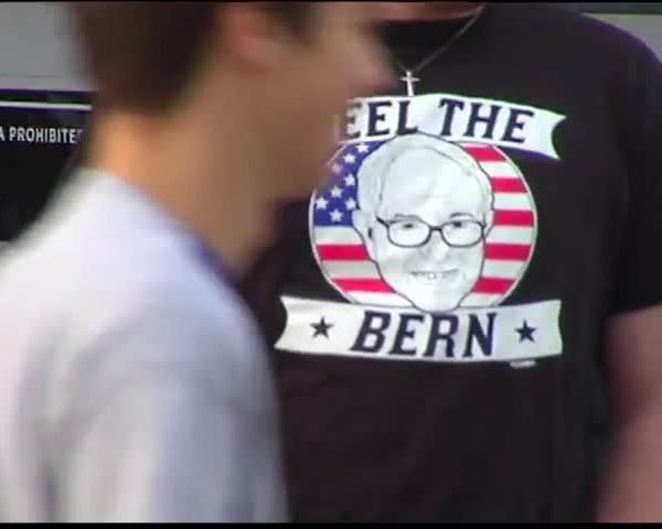 Sanders Supporters Feeling the Burn_29487978-159532