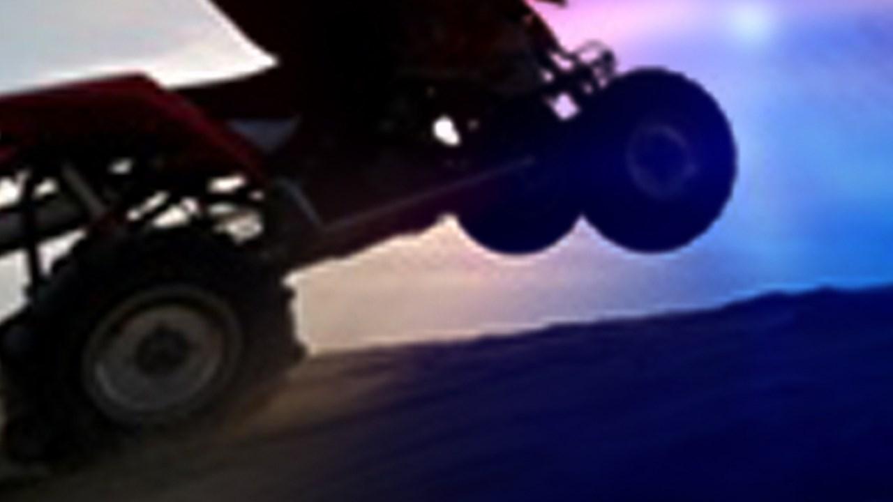 ATV, four-wheeler accident