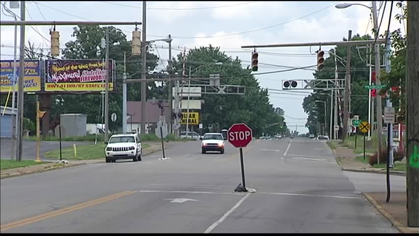 Stop Signs Placed at Ray Becker and Barker Avenue