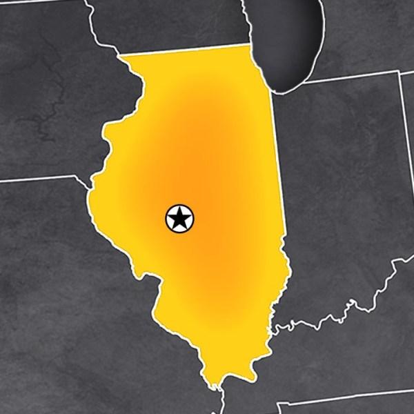 Illinois Map generic