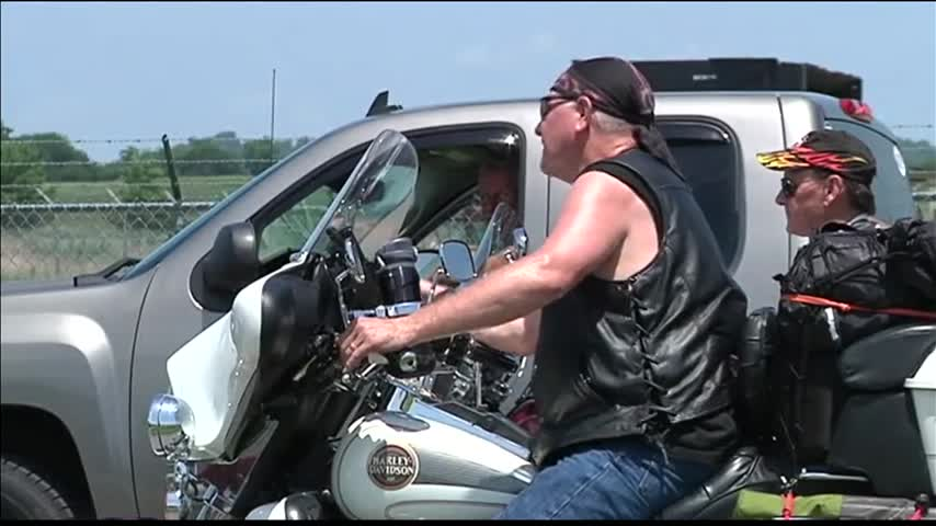 Bikers Arrive for Kentucky Bike Rally_58076291-159532