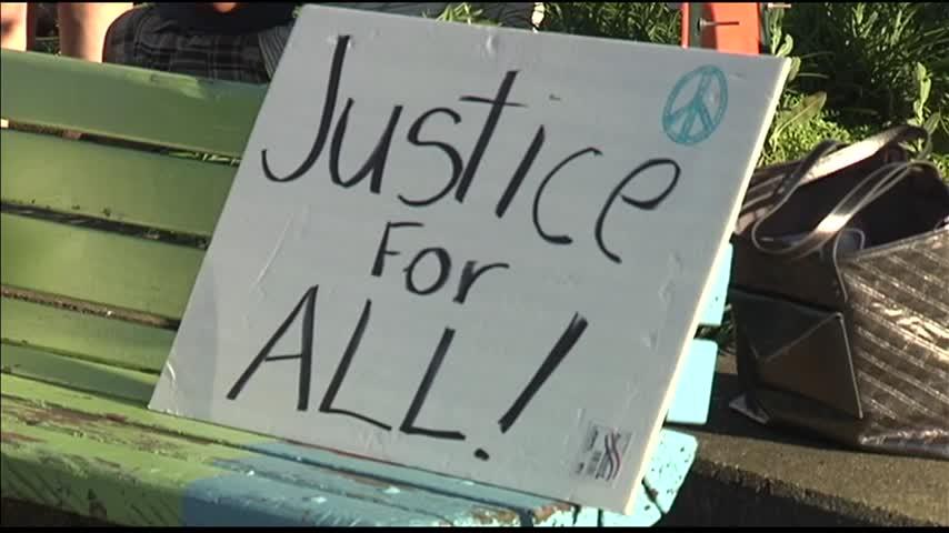 Black Lives Matter Stages Die-In in Evansville_17930155-159532
