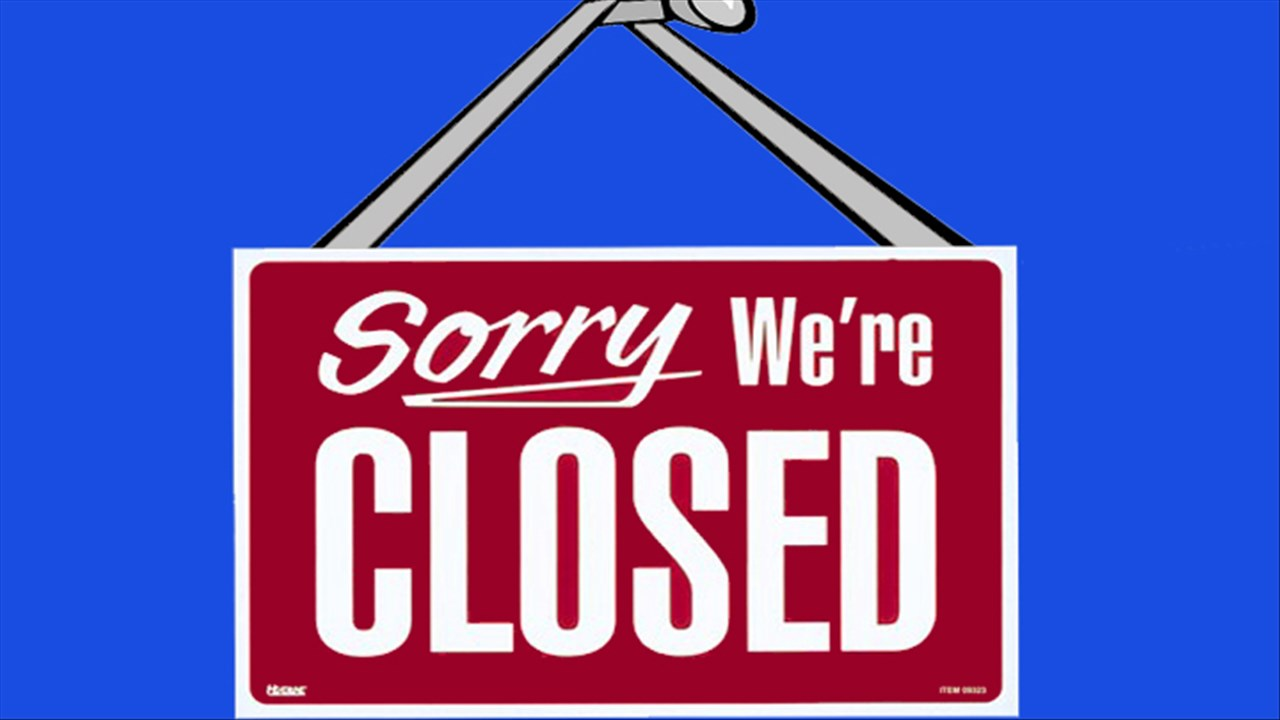 Sorry We're Closed generic