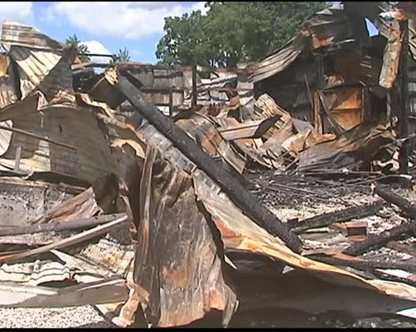 Henderson Firefighters Battle Garage Fire on Madison_07736188-159532