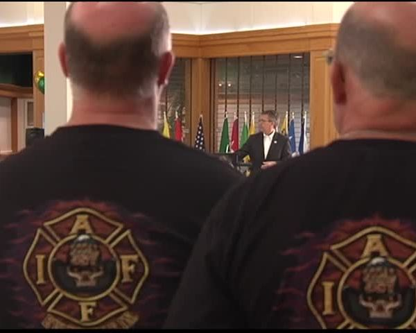 Evansville Police, Fire Unite Against Rising Health Care