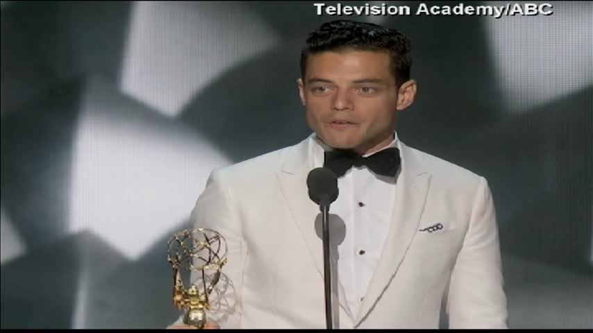 Rami Malek Wins Emmy Award_82299844-159532