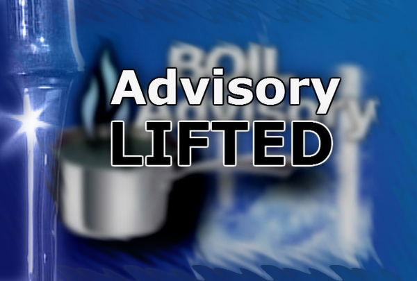 Boil Advisory Lifted