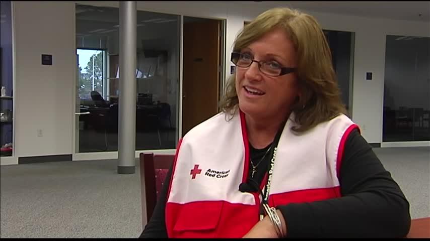 Red Cross Volunteer Returns Favor 15 Years Later