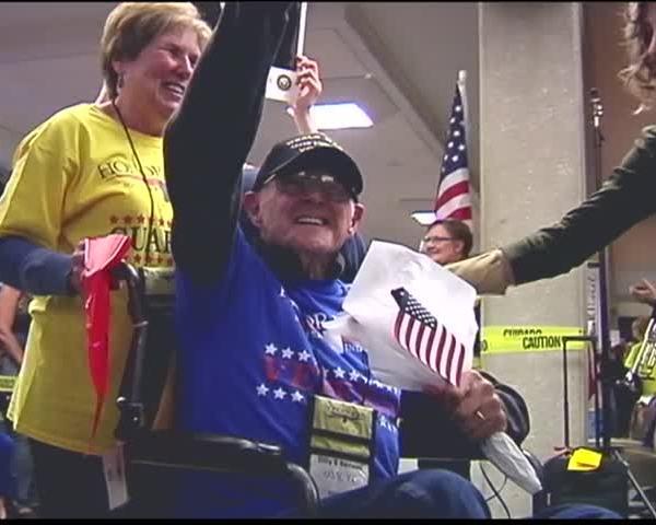 Veterans Prepare for 5th Honor Flight