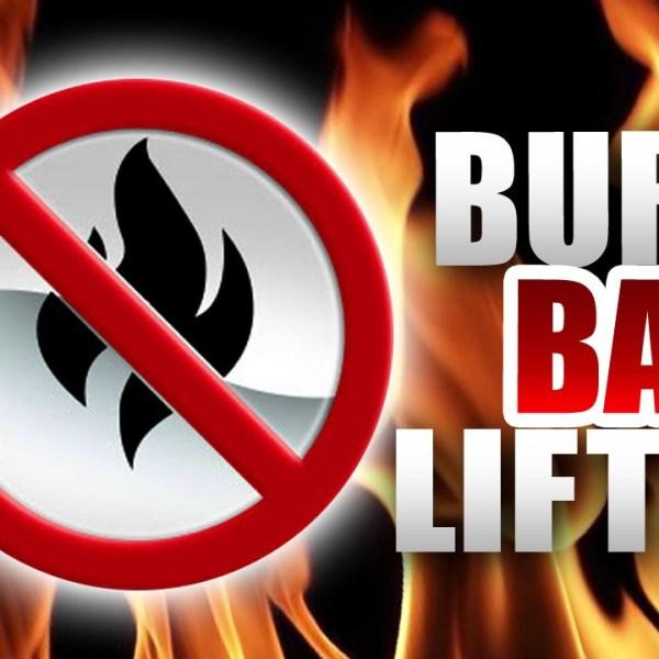 BURN BAN LIFTED_1479929698232.jpg