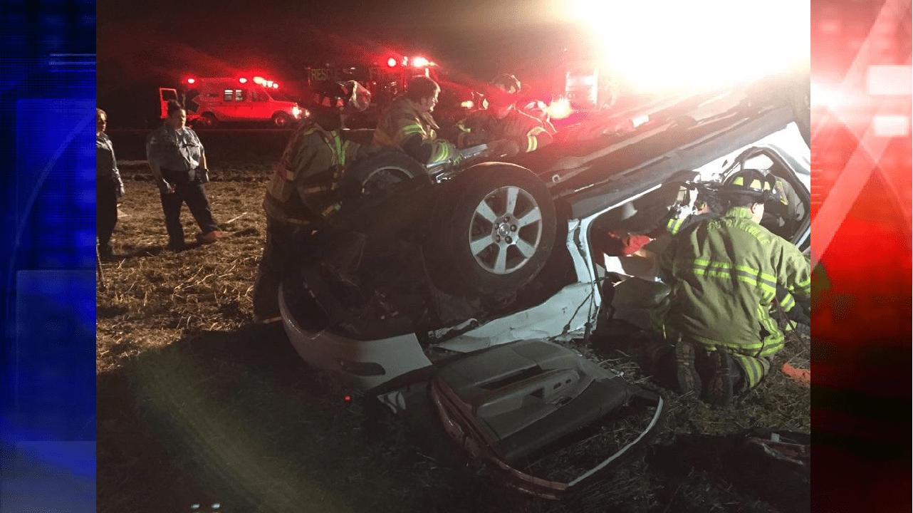 St Joseph Ave. Rollover Crash