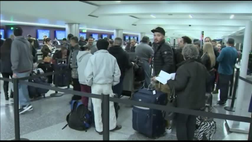 Airport Delays Due to Winter Weather_84630532