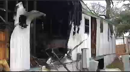 Gibson Co. Mobile Home Fire