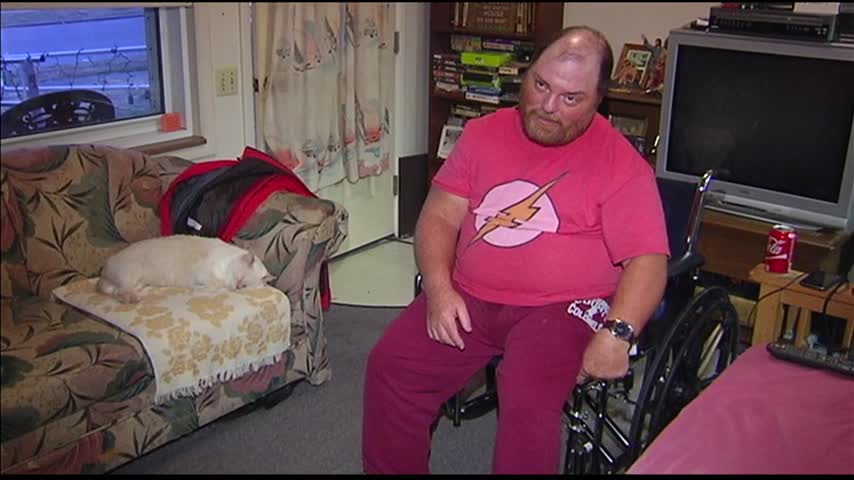 Henderson Firefighters Give New Wheels to Disabled Man