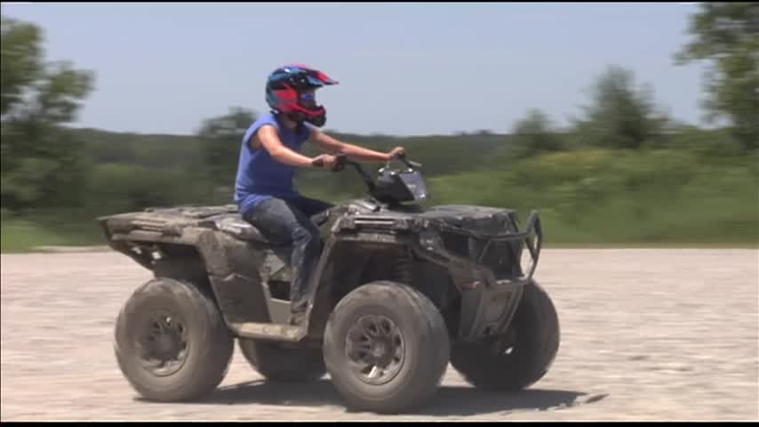 ATV Safety Law Smiles on Warrick Co. Mom
