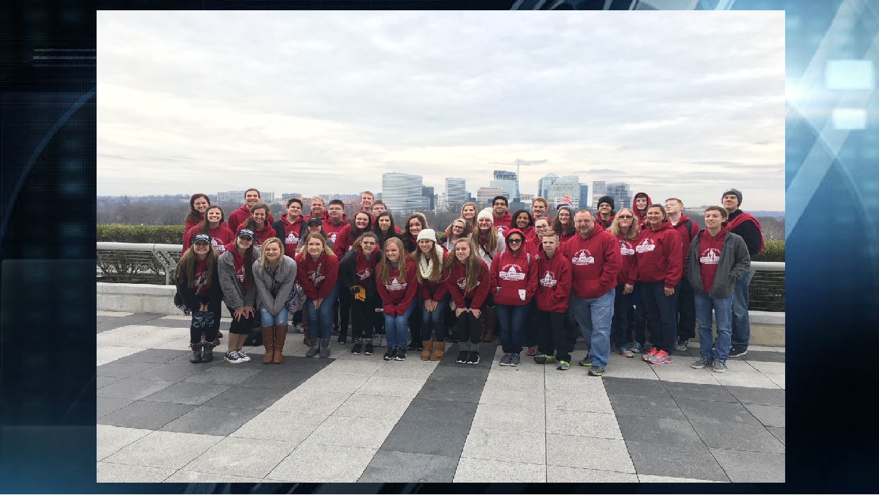 Henderson Students in DC 2