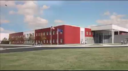 McCutchanville School Rendering