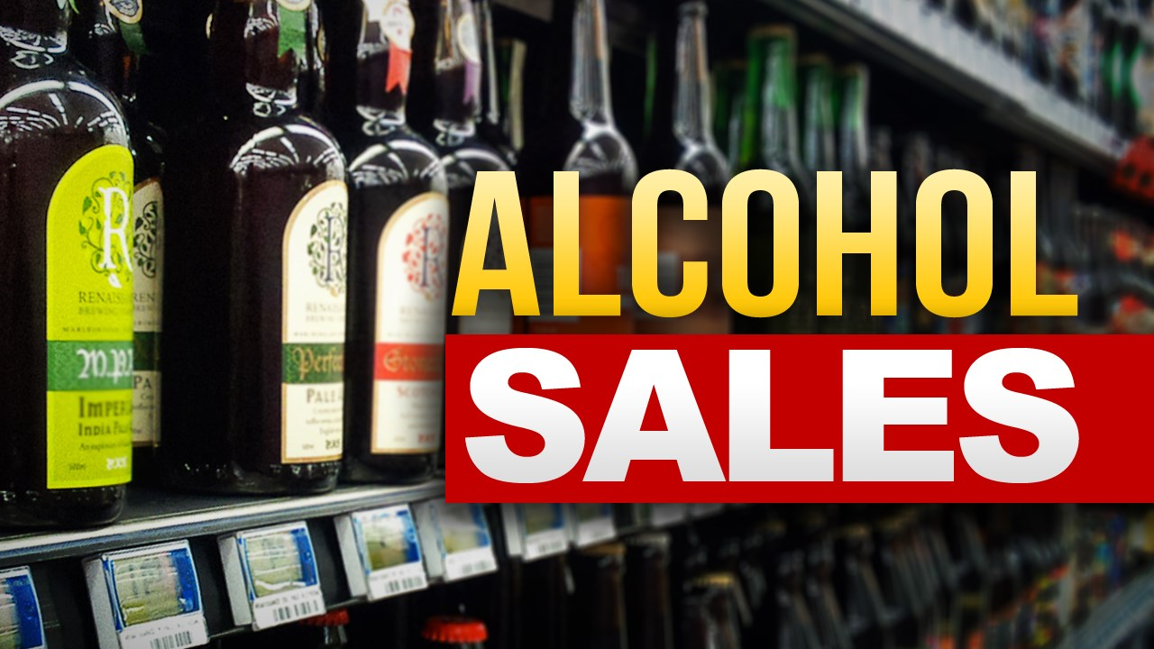alcohol sales MGN GENERIC