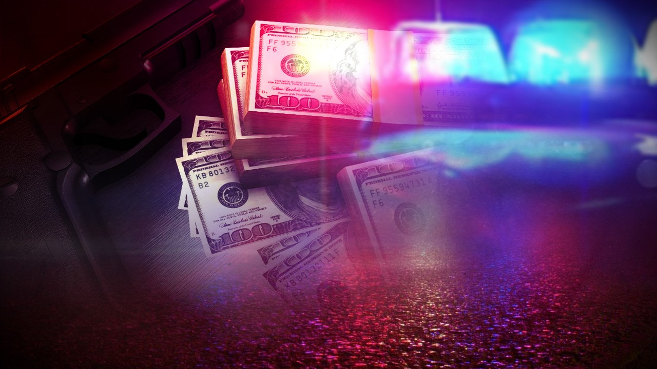 robbery generic gun police lights