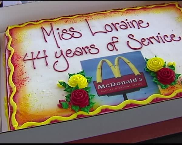Evansville Woman Celebrates 44 Years Working at McDonalds
