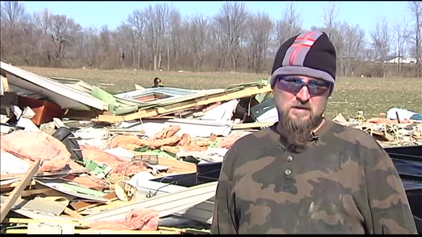 Family-s Home Destroyed- Community Preparing New One_08166510
