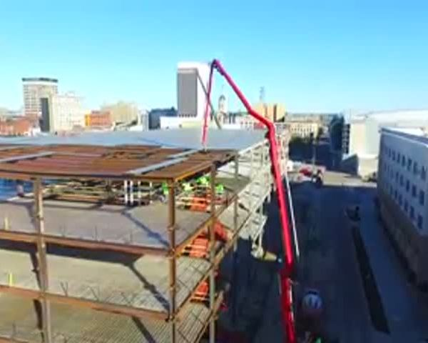Drone Video- IU Medical School Progress_23780367