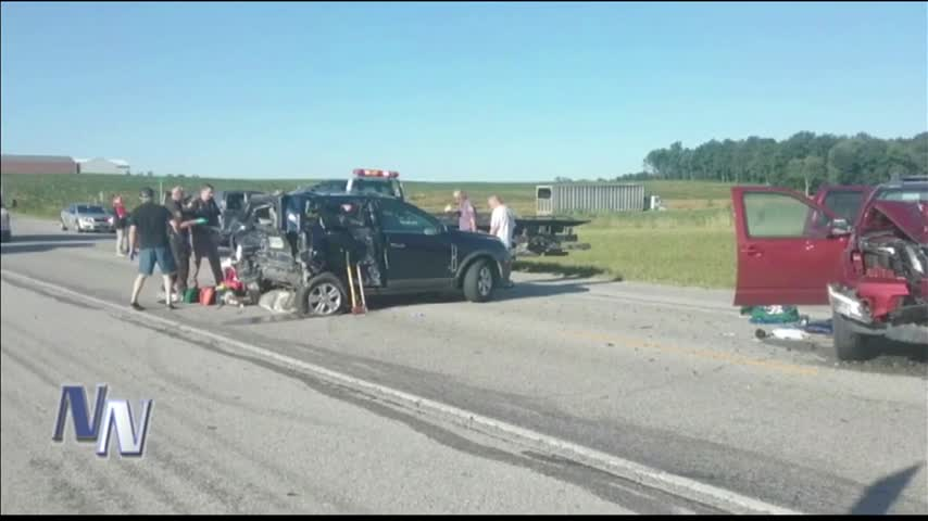 Two Injured in Four-Vehicle Crash in Dubois County_76123128