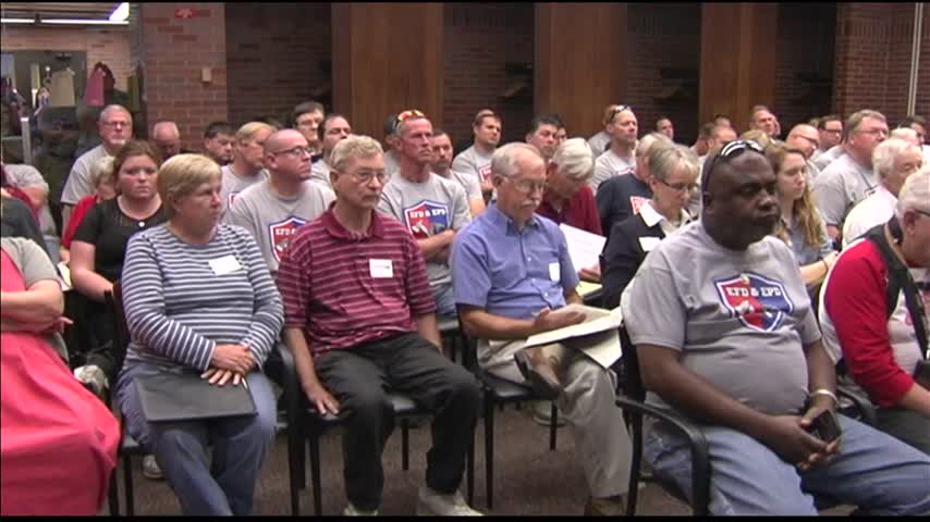 Hearing Held on Police- Fire Union vs- City of Evansville_30386825