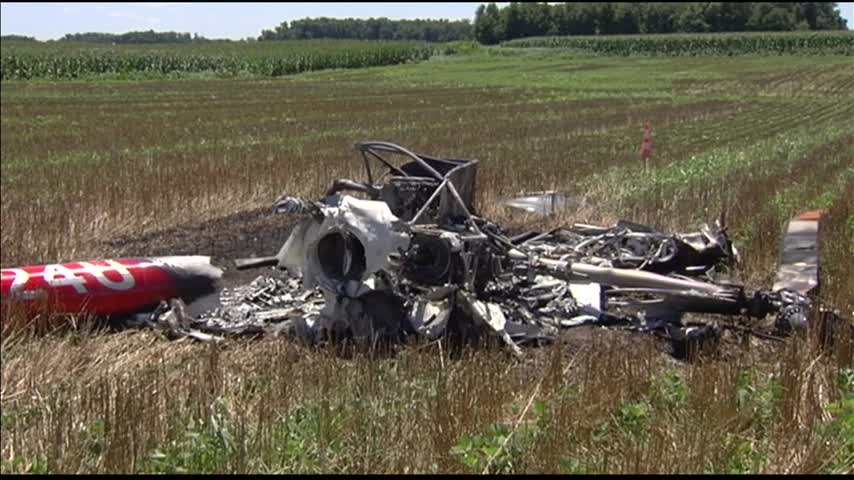 Man Survives Helicopter Crash in Dubois County_36920050