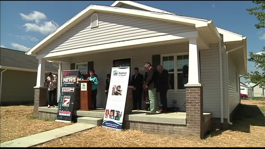 Eyewitness News Home for Habitat for Humanity Dedicated_90894825
